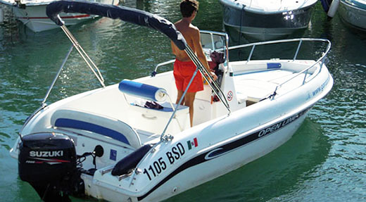 Rental Boats without licence 40 HP